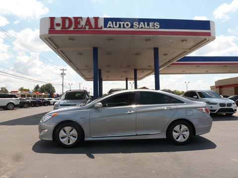 Used Cars For Sale Under 10000 >> 2014 Hyundai Sonata Hybrid For Sale In Maryville Tn