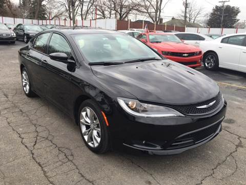 2015 Chrysler 200 for sale at NUMBER 1 CAR COMPANY in Warren MI