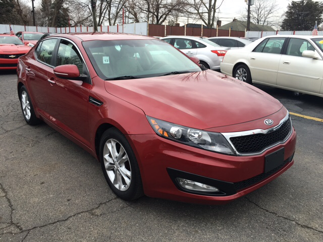 2012 Kia Optima for sale at NUMBER 1 CAR COMPANY in Detroit MI