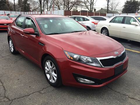 2012 Kia Optima for sale at NUMBER 1 CAR COMPANY in Warren MI
