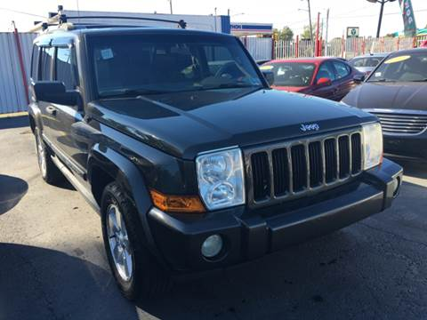 2006 Jeep Commander for sale at NUMBER 1 CAR COMPANY in Warren MI