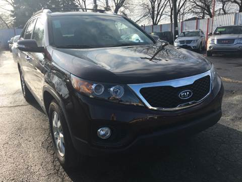2012 Kia Sorento for sale at NUMBER 1 CAR COMPANY in Detroit MI