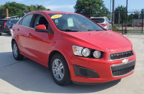 2015 Chevrolet Sonic for sale at Number 1 Car Company in Detroit MI