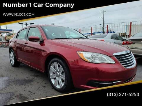 2012 Chrysler 200 for sale at Number 1 Car Company in Detroit MI