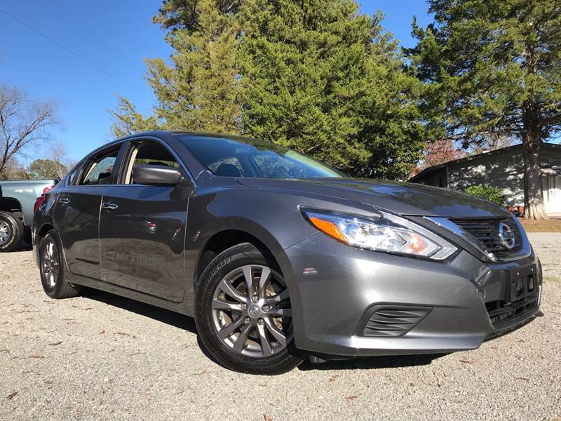 2016 nissan altima 2 5 sv 4dr sedan in scotland neck nc byron thomas auto sales inc. Black Bedroom Furniture Sets. Home Design Ideas