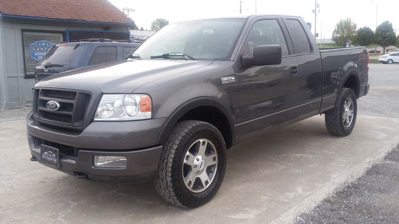 2004 ford f 150 4dr supercab fx4 4wd styleside 6 5 ft sb for Car city motors st joseph mo