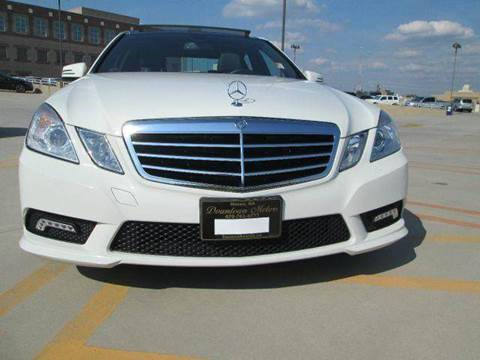 2011 Mercedes-Benz E-Class for sale at Downtown Motors in Macon GA