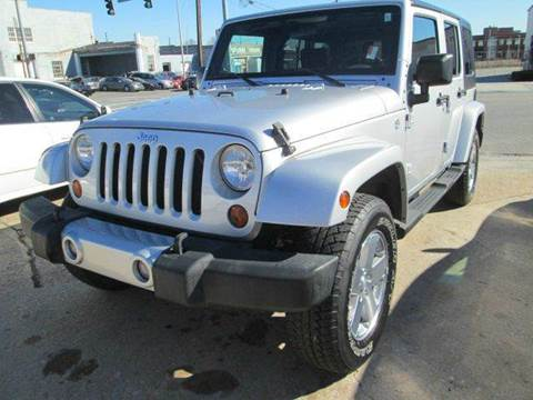 2009 Jeep Wrangler Unlimited for sale at Downtown Motors in Macon GA