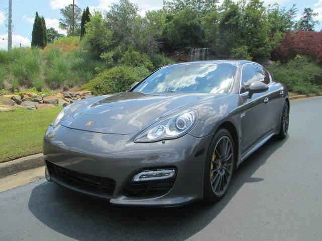 2012 Porsche Panamera Turbo S 4dr Sedan In Macon Ga Downtown Motors