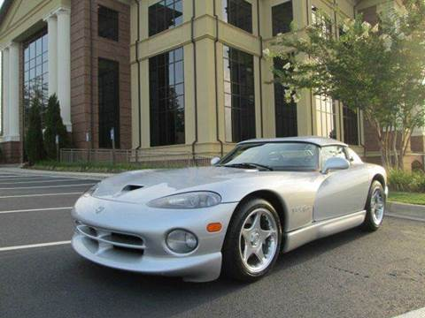 1998 Dodge Viper for sale at Downtown Motors in Macon GA