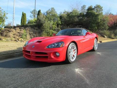 2005 Dodge Viper for sale at Downtown Motors in Macon GA