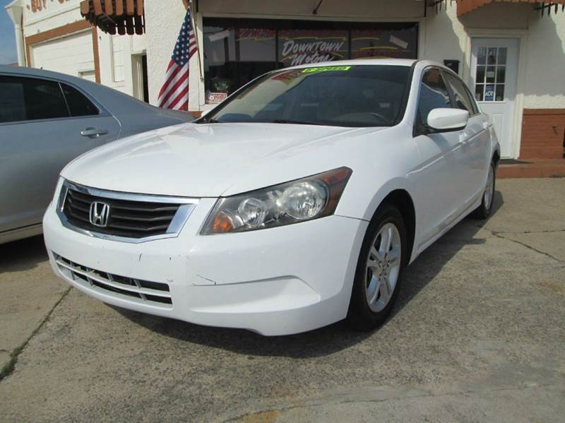 2008 Honda Accord LX 4dr Sedan 5M - Macon GA