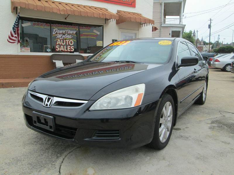 2007 Honda Accord EX-L V-6 4dr Sedan (3L V6 5A) - Macon GA