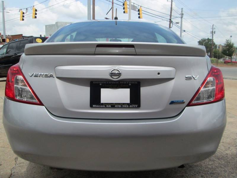 2013 Nissan Versa 1.6 SV 4dr Sedan - Macon GA