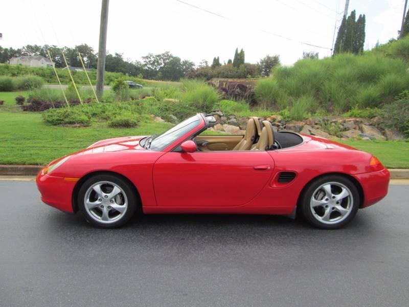 2002 Porsche Boxster 2dr Convertible - Macon GA