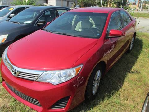 2014 Toyota Camry for sale at Downtown Motors in Macon GA