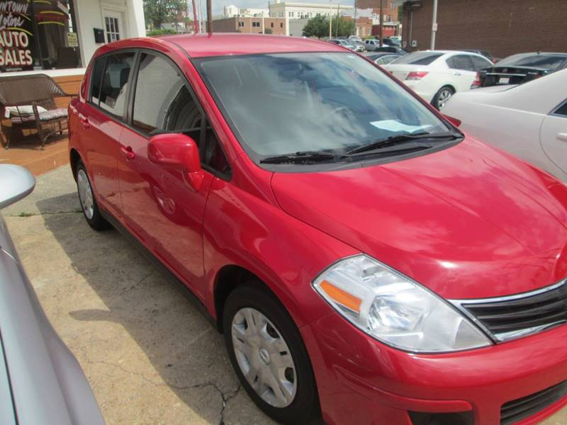 2012 Nissan Versa for sale at Downtown Motors in Macon GA