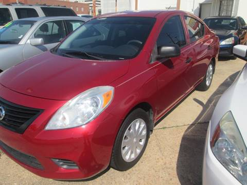 2014 Nissan Versa for sale at Downtown Motors in Macon GA