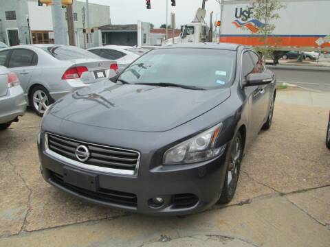 2013 Nissan Maxima for sale at Downtown Motors in Macon GA