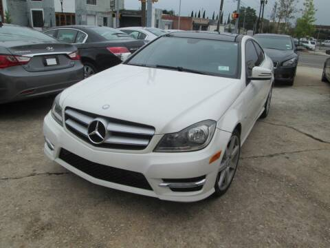 2012 Mercedes-Benz C-Class for sale at Downtown Motors in Macon GA