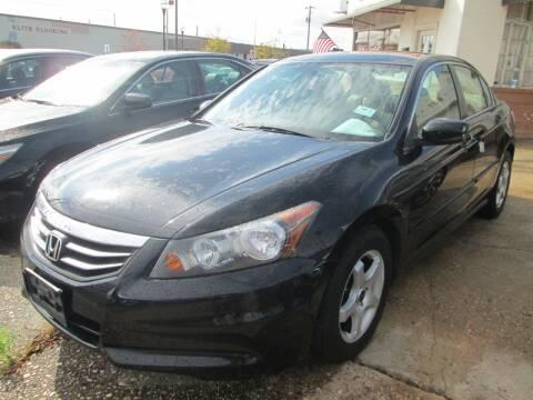 2012 Honda Accord for sale at Downtown Motors in Macon GA