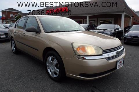 2004 Chevrolet Malibu for sale in Fredericksburg, VA