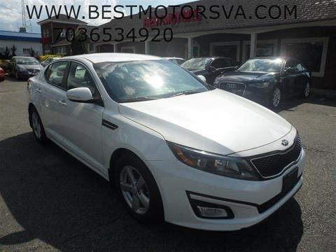 2014 Kia Optima for sale in Fredericksburg, VA