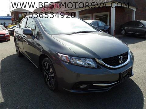 2013 Honda Civic for sale at Best Motors, Inc. in Fredericksburg VA