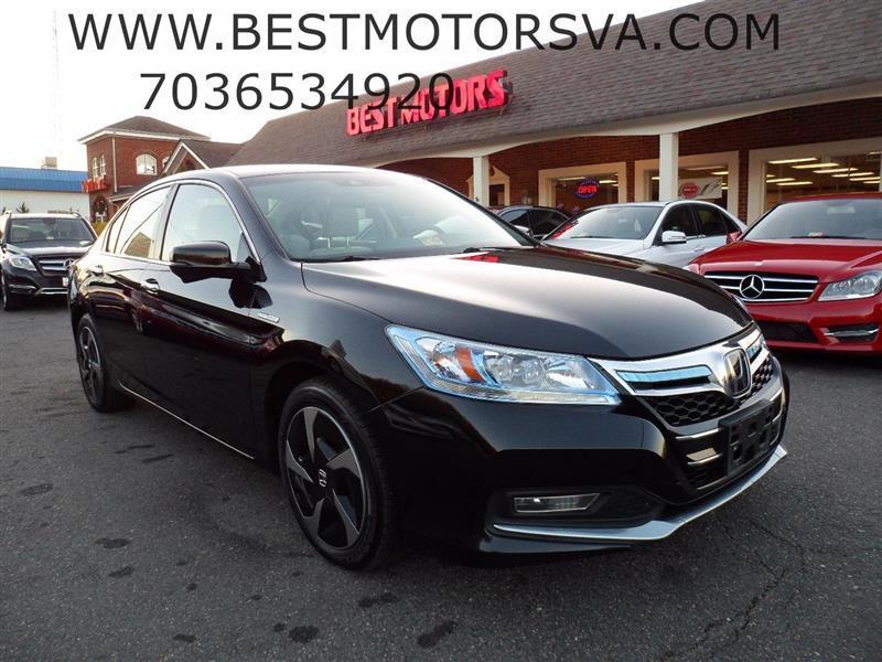 2014 Honda Accord Plug-In for sale at Best Motors, Inc. in Fredericksburg VA