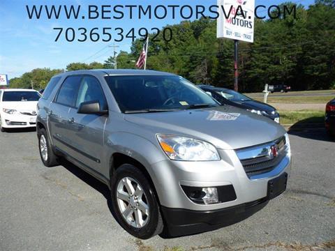 2008 Saturn Outlook for sale at Best Motors, Inc. in Fredericksburg VA