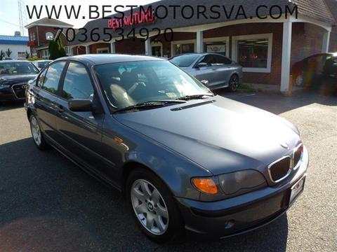 2003 BMW 3 Series for sale at Best Motors, Inc. in Fredericksburg VA