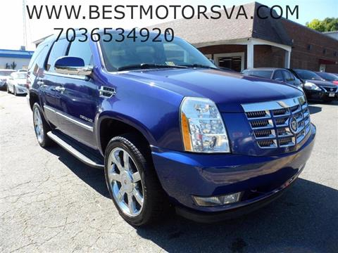 2010 Cadillac Escalade for sale at Best Motors, Inc. in Fredericksburg VA