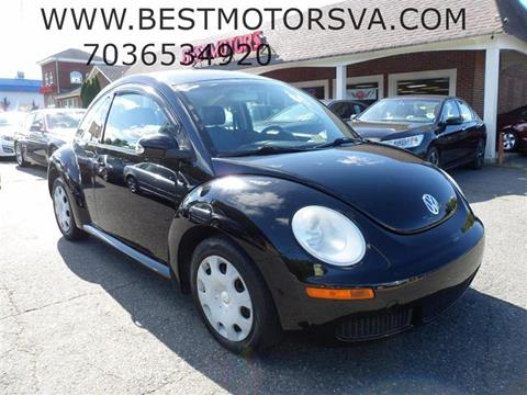2010 Volkswagen New Beetle for sale in Fredericksburg, VA