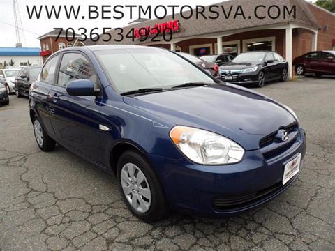 2010 Hyundai Accent for sale at Best Motors, Inc. in Fredericksburg VA