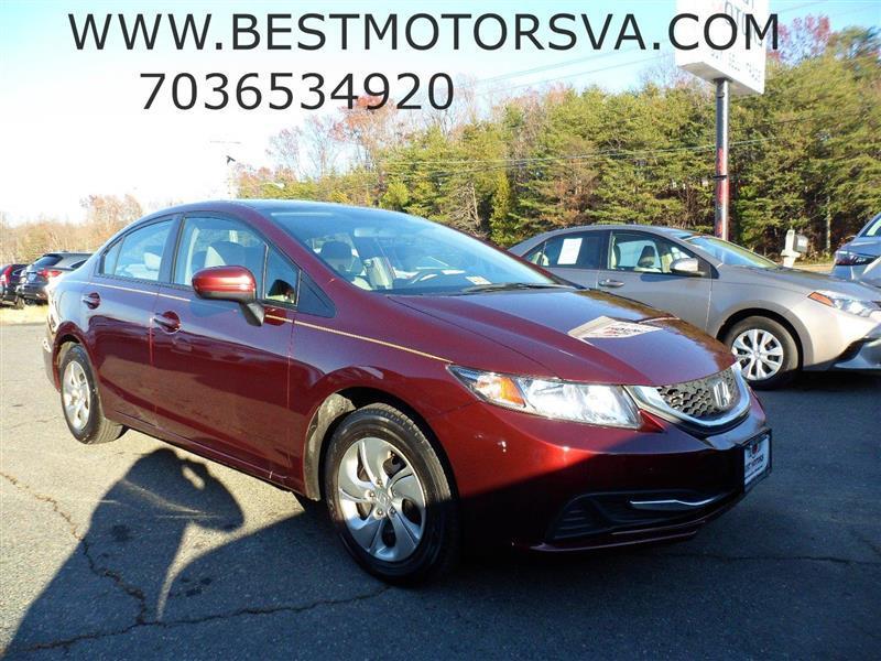 2014 Honda Civic for sale at Best Motors, Inc. in Fredericksburg VA