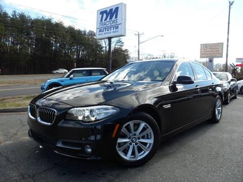 2015 BMW 5 Series for sale in Fredericksburg, VA