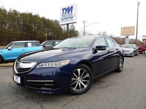 2015 Acura TLX for sale in Fredericksburg, VA