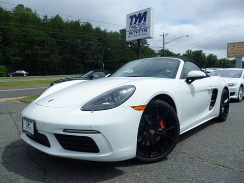2017 Porsche 718 Boxster for sale in Fredericksburg, VA