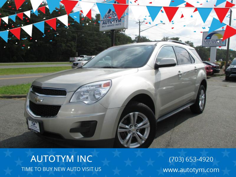2014 Chevrolet Equinox for sale at AUTOTYM INC in Fredericksburg VA