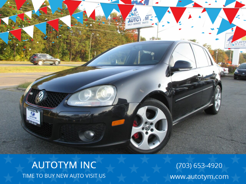 2008 Volkswagen GTI for sale at AUTOTYM INC in Fredericksburg VA