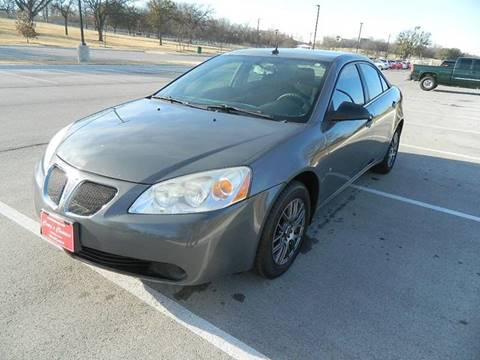 2008 Pontiac G6 for sale in Fort Worth, TX