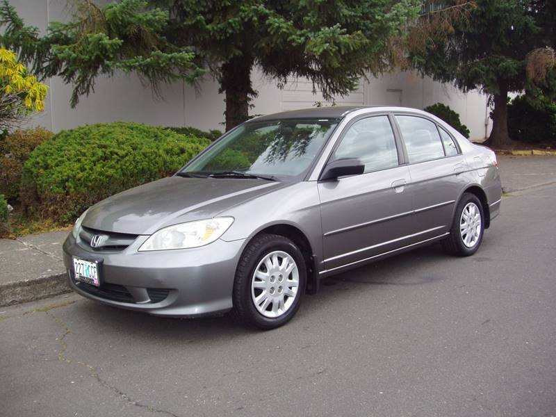 2005 Honda Civic For Sale At K W Imports In Salem OR