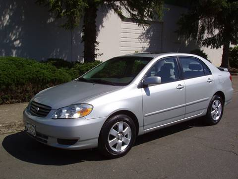 Toyota Salem Oregon >> Toyota Corolla For Sale In Salem Or K W Imports