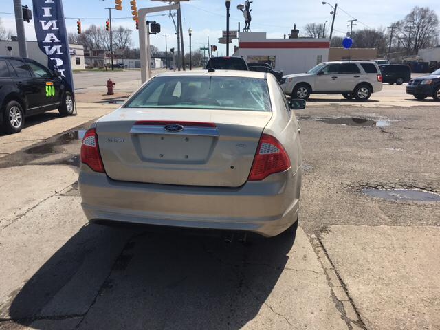 2010 Ford Fusion for sale at National Auto Sales Inc. - Hazel Park Lot in Hazel Park MI