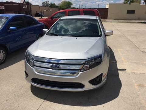 2012 Ford Fusion for sale at National Auto Sales Inc. - Hazel Park Lot in Hazel Park MI