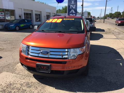 2008 Ford Edge for sale at National Auto Sales Inc. - Hazel Park Lot in Hazel Park MI
