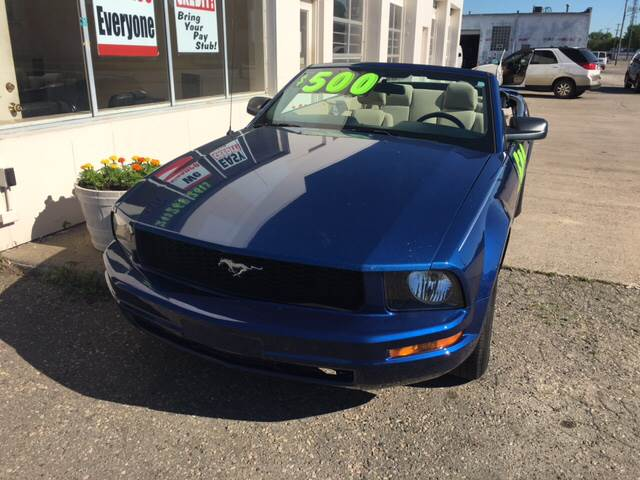 2007 Ford Mustang for sale at National Auto Sales Inc. - Hazel Park Lot in Hazel Park MI
