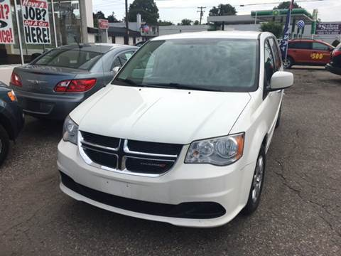 2013 Dodge Grand Caravan for sale at National Auto Sales Inc. - Hazel Park Lot in Hazel Park MI