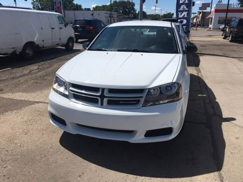 2014 Dodge Avenger for sale at National Auto Sales Inc. - Hazel Park Lot in Hazel Park MI