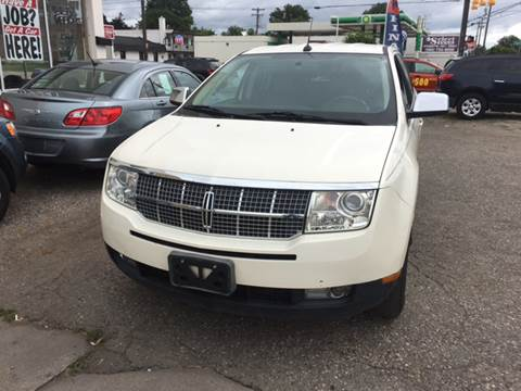2007 Lincoln MKX for sale at National Auto Sales Inc. - Hazel Park Lot in Hazel Park MI